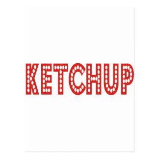 ¡Productos y diseños de la salsa de tomate! Postal