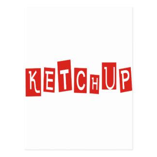 ¡Productos y diseños de la salsa de tomate! Tarjetas Postales