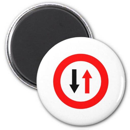 ¡Productos y diseños de las señales de tráfico! Imán Redondo 5 Cm