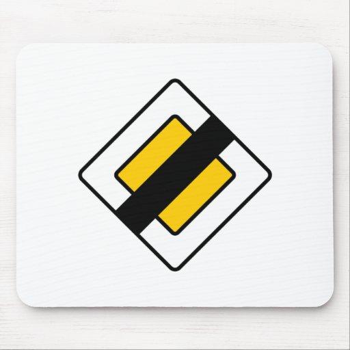 ¡Productos y diseños de las señales de tráfico! Mouse Pad