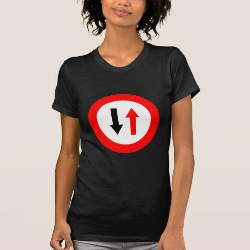 ¡Productos y diseños de las señales de tráfico! Tee Shirt