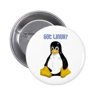 ¡Productos y diseños de Linux! Pin Redondo 5 Cm