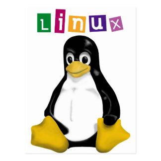 ¡Productos y diseños de Linux! Postal