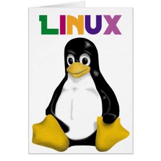 ¡Productos y diseños de Linux! Tarjeta De Felicitación
