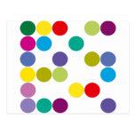 ¡Productos y diseños de los círculos de color! Postales