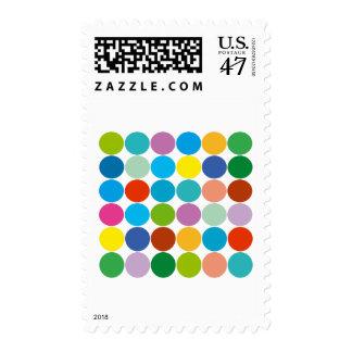 ¡Productos y diseños de los círculos! Sellos Postales