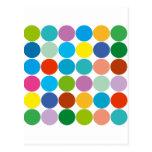 ¡Productos y diseños de los círculos! Tarjeta Postal