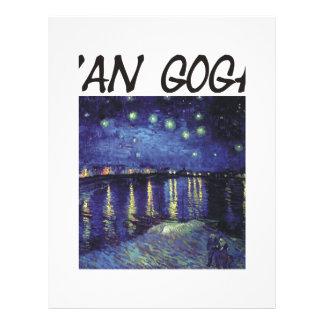 ¡Productos y diseños de Van Gogh! Flyer Personalizado