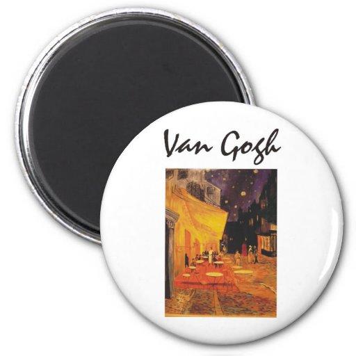 ¡Productos y diseños de Van Gogh! Imán Redondo 5 Cm