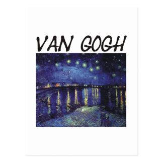 ¡Productos y diseños de Van Gogh! Postal