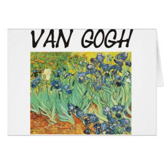 ¡Productos y diseños de Van Gogh! Tarjeta De Felicitación