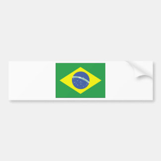 ¡Productos y diseños del Brasil! Pegatina De Parachoque