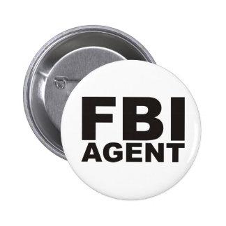 ¡Productos y diseños del FBI! Pin Redondo De 2 Pulgadas