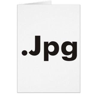 ¡Productos y diseños del JPG del friki! Tarjeta De Felicitación