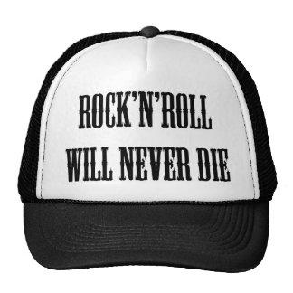 ¡Productos y diseños del rock-and-roll! Gorros Bordados
