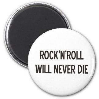 ¡Productos y diseños del rock-and-roll! Imán Redondo 5 Cm