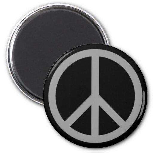 ¡Productos y diseños del símbolo de paz! Imán Redondo 5 Cm
