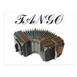 ¡Productos y diseños del tango! ¡Música de la Arge Postal