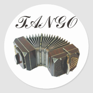 ¡Productos y diseños del tango! ¡Música de la Pegatina Redonda