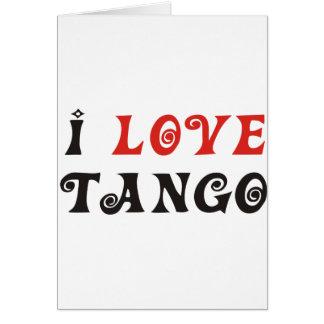 ¡Productos y diseños del tango! Tarjeta De Felicitación