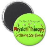 Productos y regalos de la terapia física iman de nevera