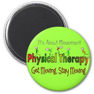 Productos y regalos de la terapia física imán redondo 5 cm