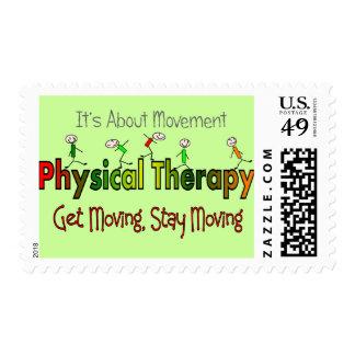 Productos y regalos de la terapia física sellos