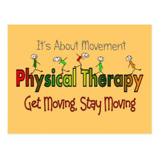 Productos y regalos de la terapia física postal