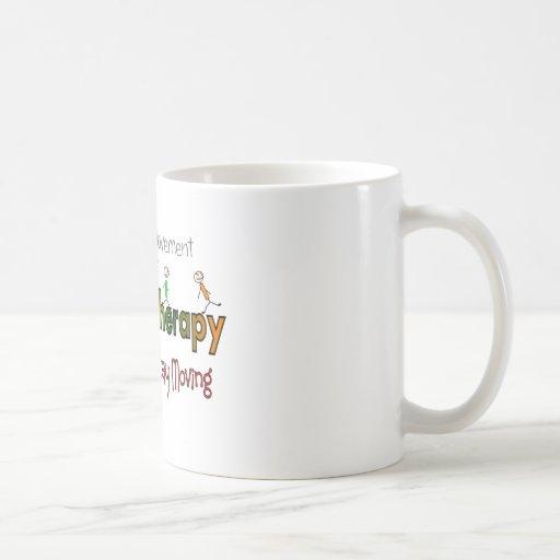 Productos y regalos de la terapia física taza de café