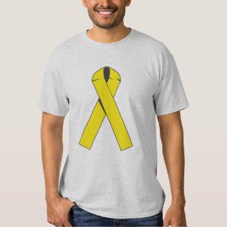 Productos y ropa amarillos adaptables de la cinta remera