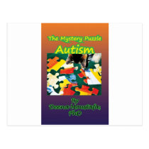 Products Autism Awareness Postcard