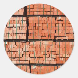 Products brickworks classic round sticker