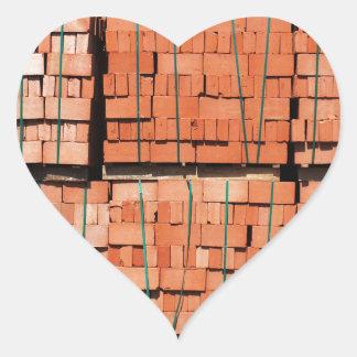 Products brickworks heart sticker