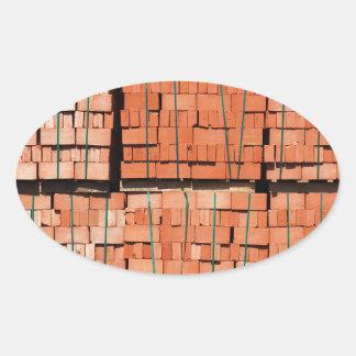Products brickworks oval sticker
