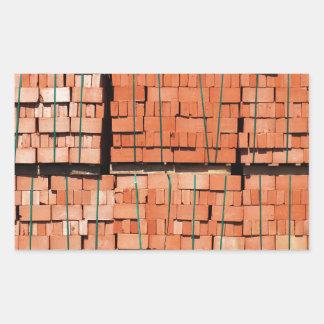 Products brickworks rectangular sticker