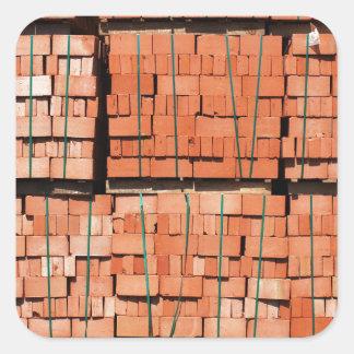 Products brickworks square sticker