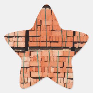 Products brickworks star sticker