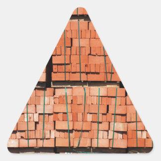Products brickworks triangle sticker