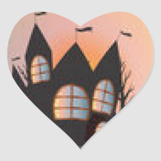 Products for Halloween Heart Sticker