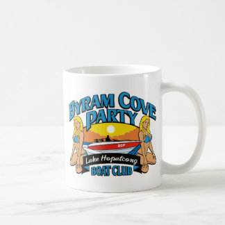 Products for the Byram Cove Party (BCP). Coffee Mug