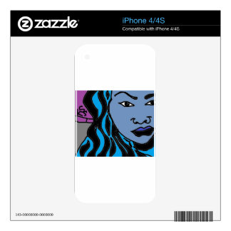 products of the hip hop culture skins for iPhone 4S