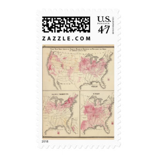Products raised in 1870 Wheat Dairy Products Corn Postage