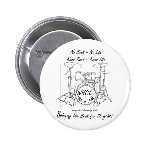 Products to celebrate and support WYCE Buttons