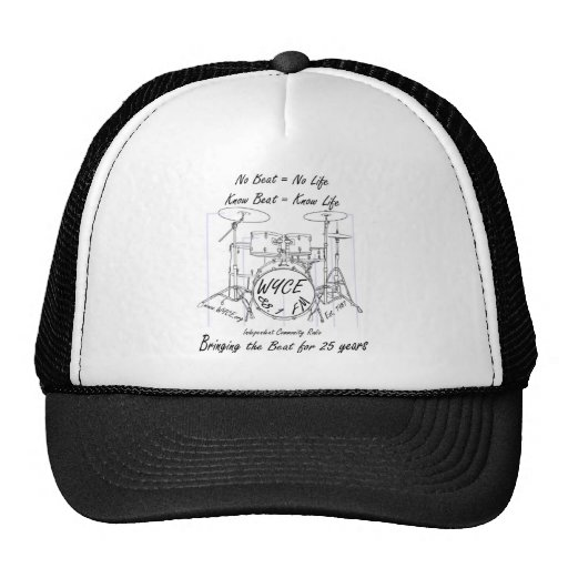 Products to celebrate and support WYCE Trucker Hat