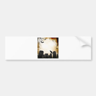 Products with Horror Theme Bumper Sticker
