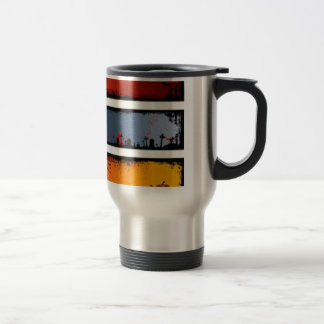 Products with Horror Theme Travel Mug