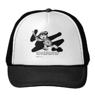 Products with illustrations of the armor of God Trucker Hat