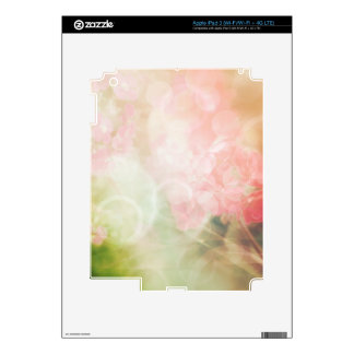 Products with pastel floral abstract iPad 3 skins