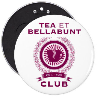 products with tea pinback button
