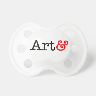 Products with the Art& mark Pacifier